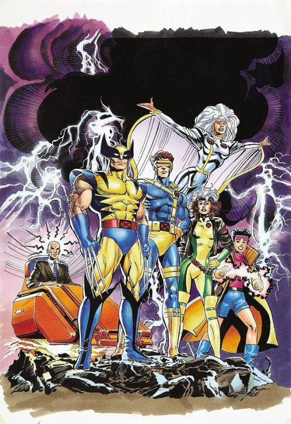 X-Men PROMO ART
