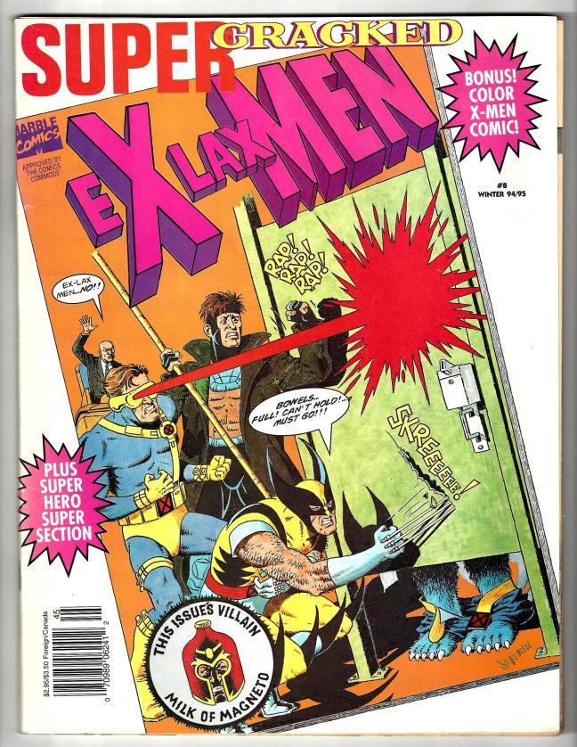 X-lax Men CRACKED