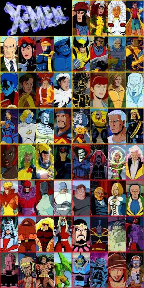 X-men collage 6-16