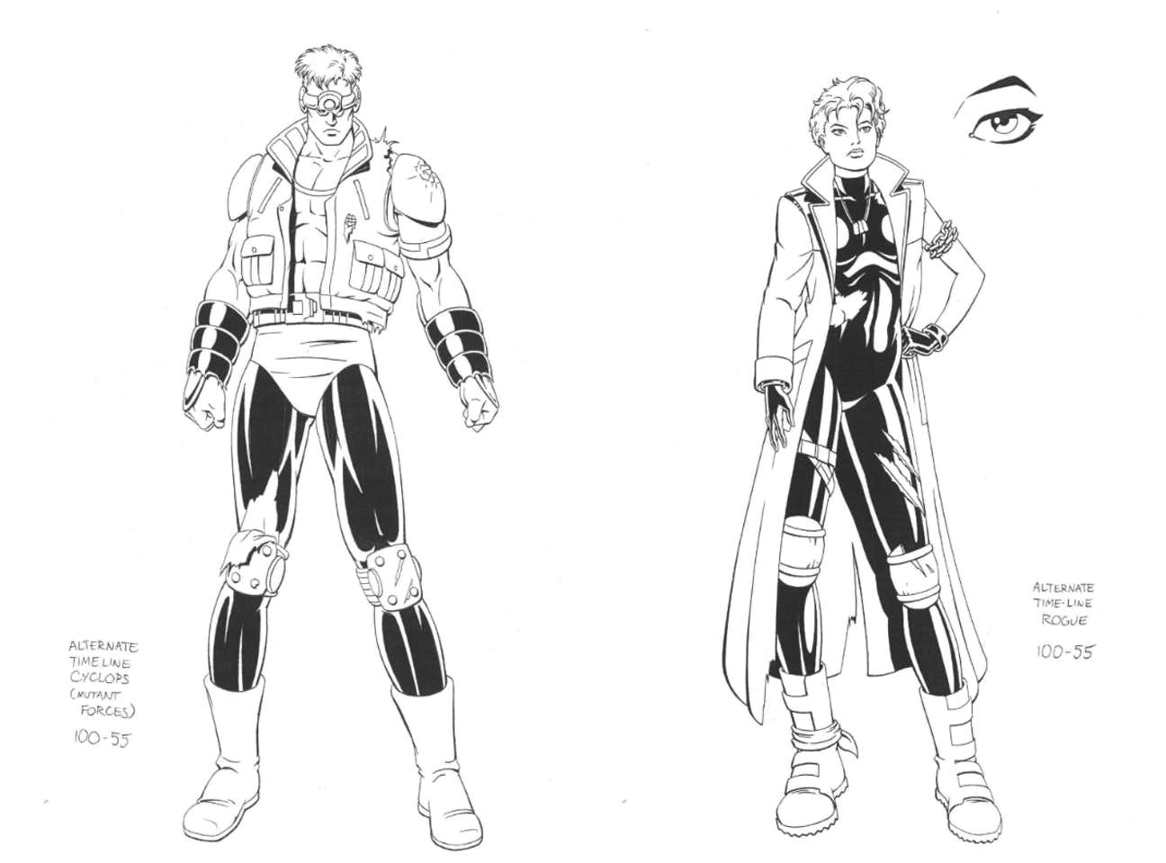 Cyclops-Rogue-Alternate-Timeline-XMen-Animated