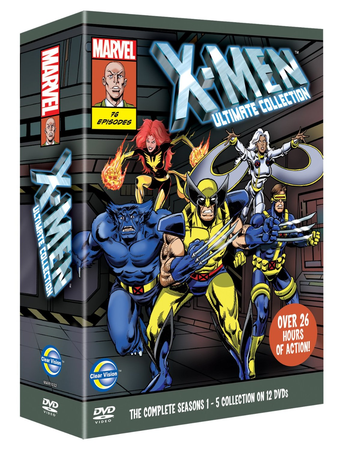 Ultimate Collection Jpg: HOLLYWOOD OFTEN DOESN'T GET IT: X-MEN DVDs