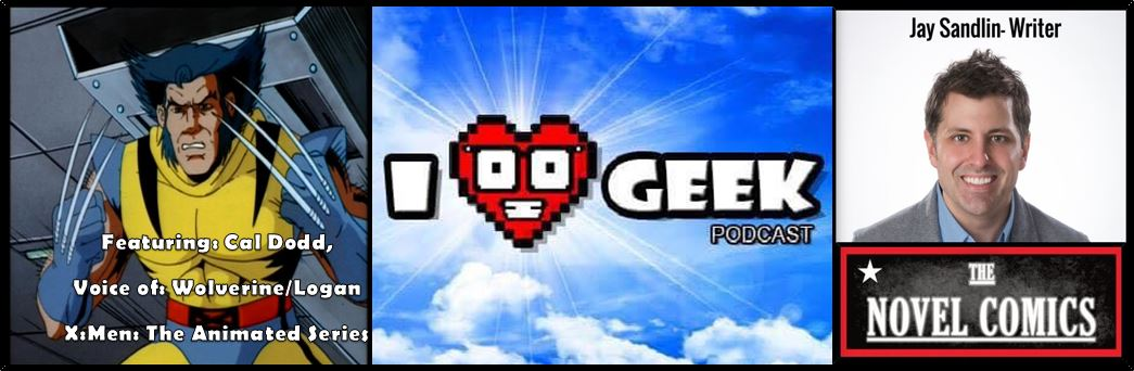 cal dodd I heart Geek jaysandlin podcast