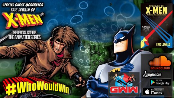 who would win gambit v batman jay sandlin james gavsie podcast