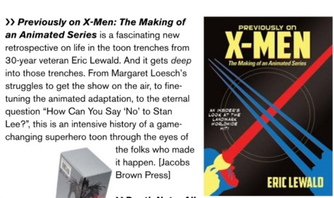 Animation Magazine Prev on Xmen Stuff We Love 01 december 2017