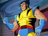 wolverine logan cal tas yellow suit claws out